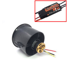 4S 70mm 12mm cuchillas fan acondicionado QX-MOTOR FED unidad Drone RC Motor sin escobillas QF2827 2600KV 80A CES Quadcopter accesorios(China)