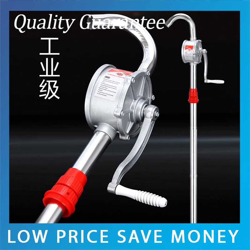 Aluminum Alloy Hand Pump Portable Oil Drum Pump Manual Fuel Transfer Pump