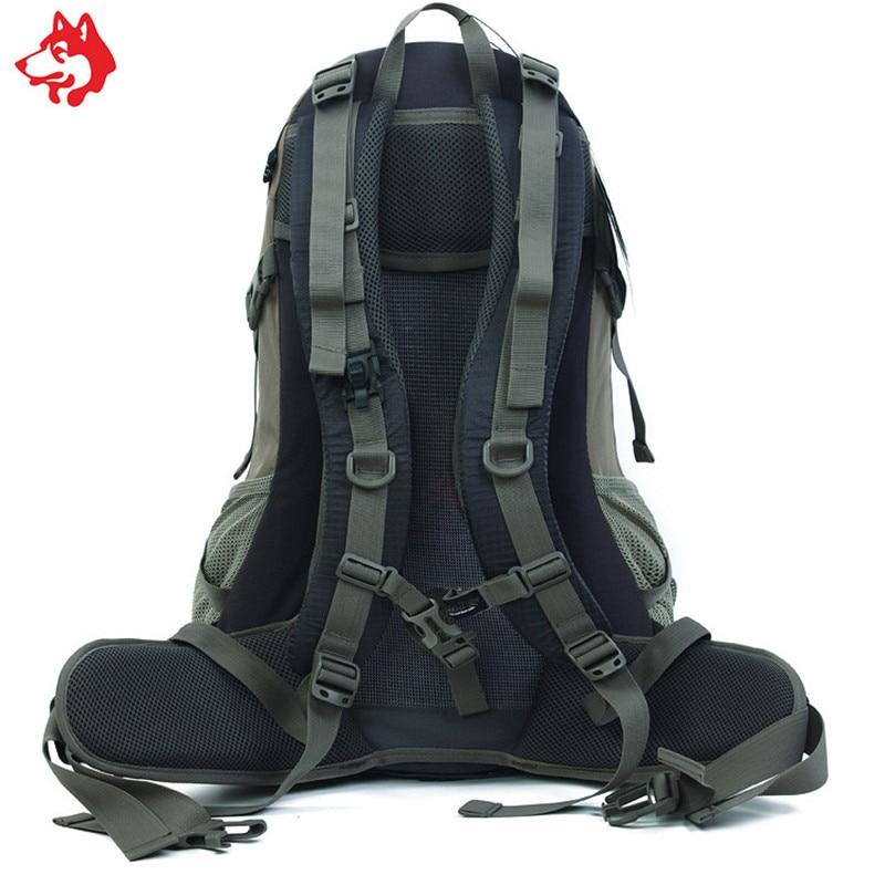 Купить с кэшбэком Medium capacity 40L Green/Orange/Grey anti-tearing nylon hiking backpack  outdoor sporting camping backpacks