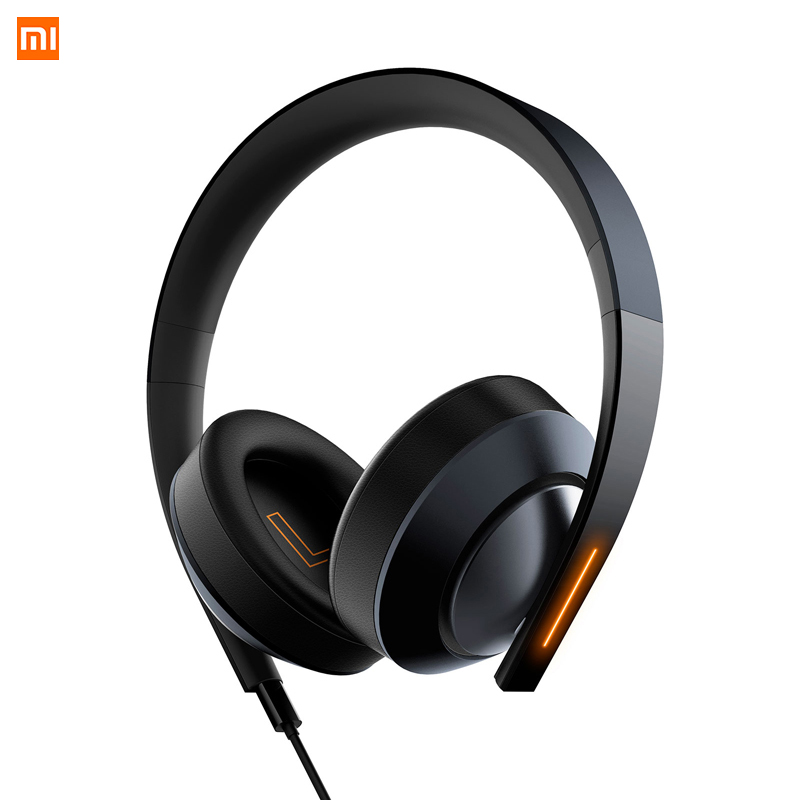 Xiaomi Mi Gaming Headphones LED Light 3.5mm USB Earphone Hi-Fi Headset for Laptop Phones Game Headphone Denoise with Microphone 914 5 cool hi fi wired headset w microphone for xbox360 black 110cm