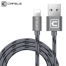Cafele USB Charging Cable for iPhone 5/6/7 Fast Charging and Data Sync 8 Pin USB Cable for iPhone 5S/6S/7 Plus недорого