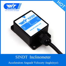 WitMotion SINDT ثنائي المحور AHRS عالية الدقة زاوية الميل التبديل ، الإخراج الرقمي ، IP67 مقاوم للماء ، ومكافحة الاهتزاز