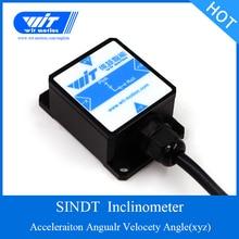 Witmotion sindt デュアル軸 ahrs 高精度角度傾斜スイッチ、デジタル出力、 IP67 防水、防振
