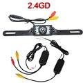 2.4G Sem Fio Car Câmara de Visão Traseira Reversa de Backup Câmera de Estacionamento Retrovisor Do Carro Da Câmera de visão noturna Para O Carro DVD Monitor de
