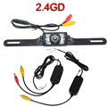 2.4G Wireless Car Reverse Rear View Camera Backup Parking Camera  night vision Car RearView Camera For Car DVD Monitor
