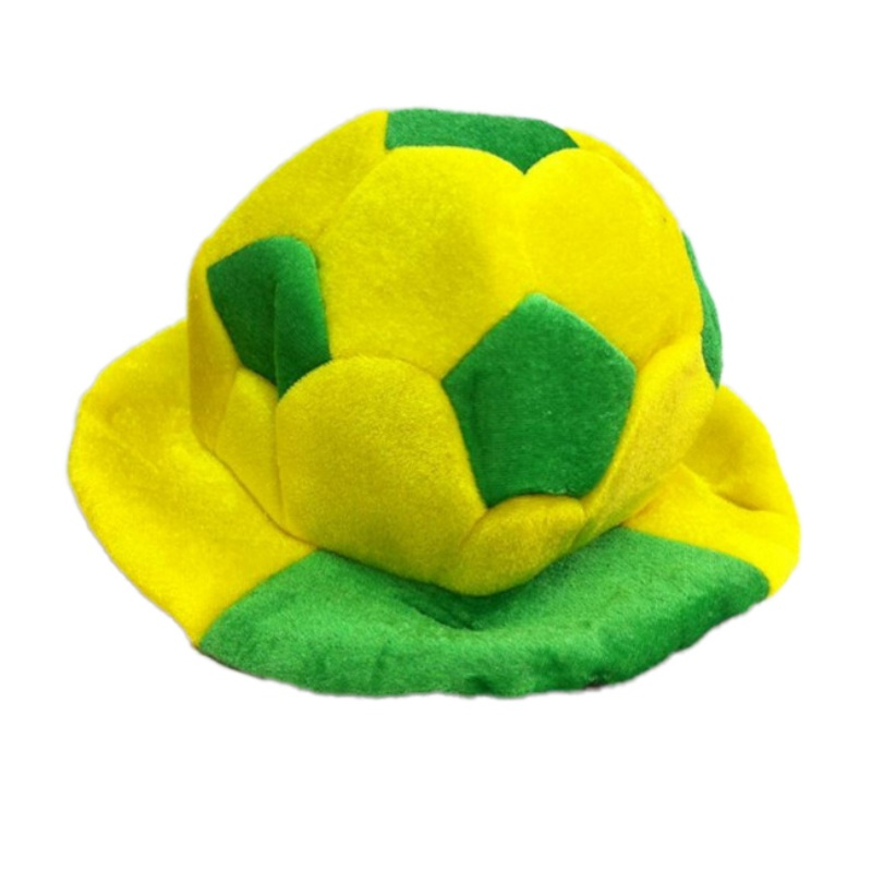 Unisex Men Women Soccer Accessories fans Flag Color Caps soccer pattern for fans