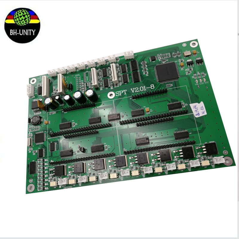 Best price! CRYSTALJET print Head Board 50pl 8 heads board used in 510 printhead for crystaljet CJ4000 large format machine free shipping best price konica 512i printhead connector board for inkjet printer large format printers 512i printhead