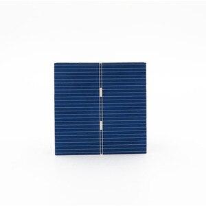 Image 1 - 0.43 วัตต์ 52X52 มม.DIY แผงพลังงานแสงอาทิตย์โซล่าเซลล์ Polycrystalline แผงเซลล์แสงอาทิตย์โมดูล DIY SOLAR Battery Charger Painel พลังงานแสงอาทิตย์
