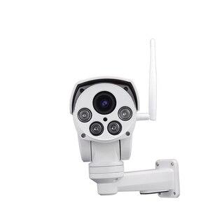 Image 2 - H.265 5MP Starlight 10X 줌 무선 보안 IP PTZ 카메라 POE 네트워크 Wi Fi 카메라 Sony IMX335 센서 오디오 Onvif 1080P IPCam