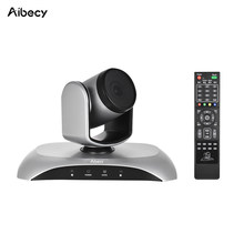 Aibecy 1080P HD USB Video Conference Camera Auto Focus 3X Optical Zoom Auto Scan Plug-N-Play with IR Remote Control for work(China)