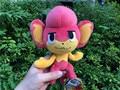 "100% Geniune Tomy Pokemon Plush Stuffed Boneca 8 ""Pansear Novo"