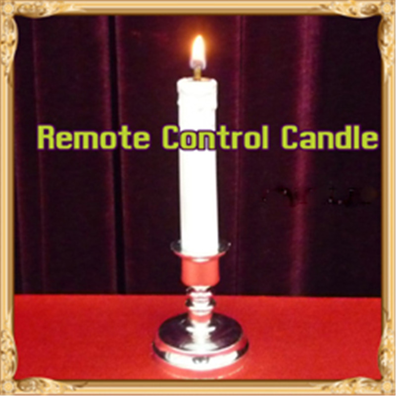 Remote Control Candle Magic Tricks Fire Magie Magician Stage Bar Close Up Illusions Gimmick Props Accessories Comedy Mentalism