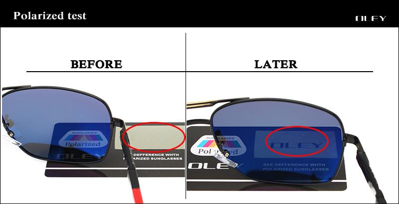 HTB1lD xRFXXXXcoXXXXq6xXFXXXg - OLEY Brand Polarized Sunglasses Men New Fashion Eyes Protect Sun Glasses With Accessories Unisex driving goggles oculos de sol