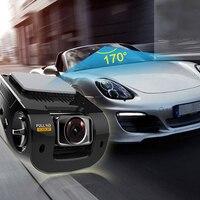 Mini Car Camera Dual Lens Car DVR Dash Cam HD 1080p 170 Wide Angle With G Sensor WDR Loop Recording And Night Vision