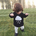 New Kids Boys Girls Kint Sweater Fashion Clouds Pattem Children Thick Jumper Pullovers Sweater Autumn Baby Girls Clothes Tops