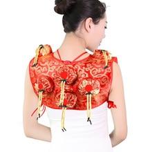 SHARE HO красный бархат коробка мокса китайская прижигание терапия для женщин гинекопатия палочки мокса горелки нержавеющая сталь прижигание коробка