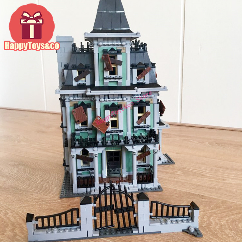 Movie series 10228 2141Pcs Monster The haunted house toys For Children Gift 16007 Building Blocks Set Compatible Education