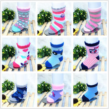 1PC 0 to 9 months spring and summer months thin air newborn infant baby socks and pure cotton doll by stereo(China)