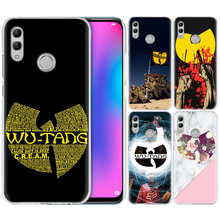 Wu Tang Clan Hip Hop Case for Huawei Honor 8X Y9 9 10 Lite Play 7C 8C 8S 8A 7S 7A Pro V20 20i Y6 Y7 Y5 2019 Hard PC Phone Cover(China)
