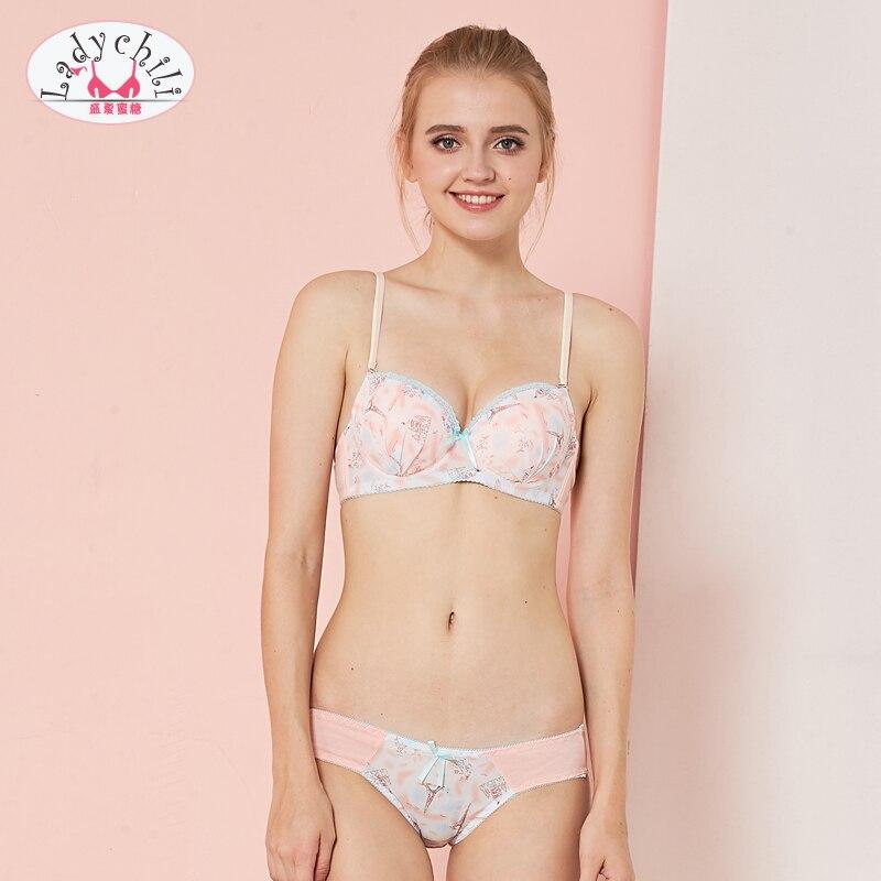 Excellent Junior girl underwear model bra panties