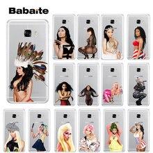 Babaite Queen Nicki Minaj TPU Soft Silicone Phone Case Cover for Samsung S9 S7 S6 S5 S8 Plus edge