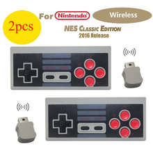 2 Pcs Wireless Controller Gamepad für Nintendo Mini Classic Edition NES Konsole AAA Batterien Power
