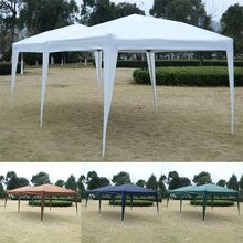 High Quality 10' X 20' EZ POP UP Folding Wedding Party Tent Cross-Bar Water Proof 210d Oxford Fabric 99% UV Proof Steel Frame(China)