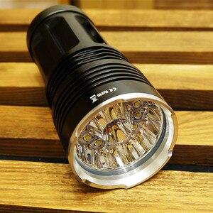 Image 4 - Sofirn 18 * T6 強力な LED 懐中電灯ハイパワー懐中電灯 18650 サーチライトトーチライトハントキャンプ自転車ライト