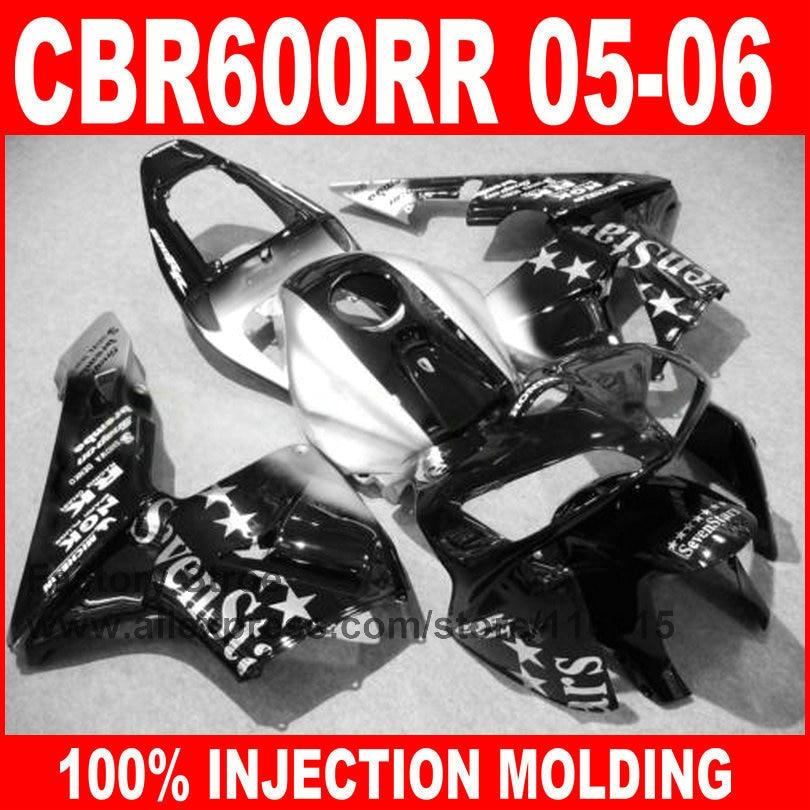 Custom factory store Injection Molding for HONDA CBR600RR fairings kit 2005 2006 CBR 600 RR 05 06 sevenstars fairing parts