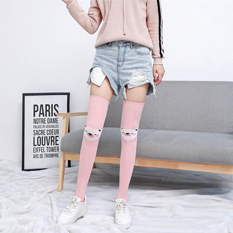 Compression Socks Palace Girl Full Socks Long Socks Knee High Socks Long 50cm)