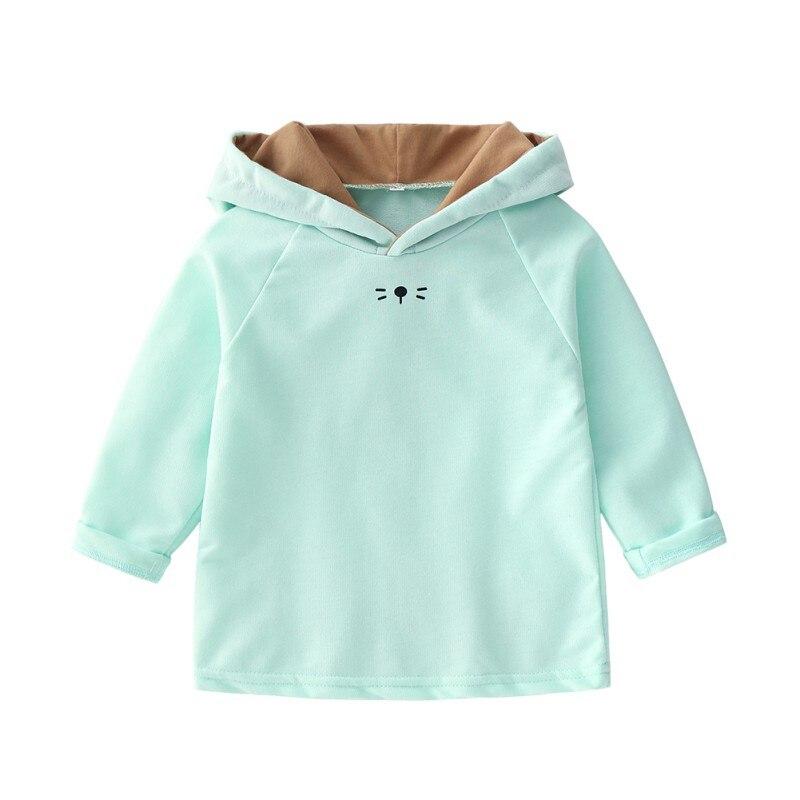 Newborn Baby Hoodies Candy Color Baby Girls Sweatshirts Hoodies Children Coats Jacket Girls Spring Autumn Sweatshirts 0-24M