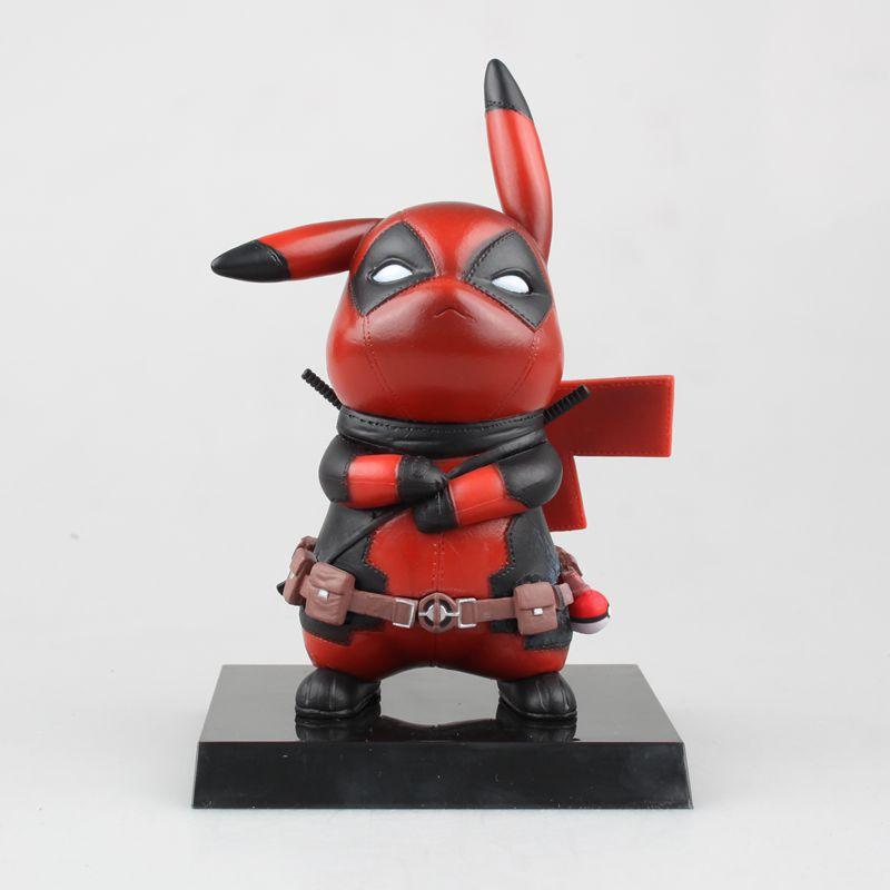 WVW 15CM Hot Sale Comic Hero Deadpool Wolverine X-MEN Play Arts Model PVC Toy Action Figure Decoration For Collection Gift цена