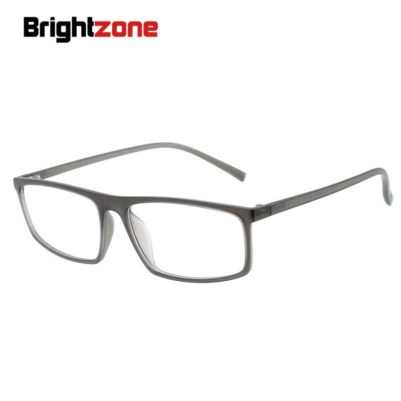 Brightzone TR90 Prescription Eye Glasses Women Brillen Men Fashion Transparent Reading Clear Spectacles Unique Hinge Oculos