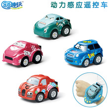 Gravity Sensing Remote Control RC Smart Watch Car 1:58 Mini Cartoon With 2.4G USB Rechargeable Toys For Children Gift boy toy