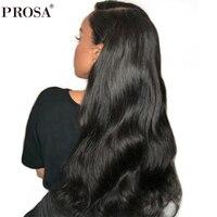 150% плотность полный кружевной парик человеческих волос предварительно сорвал бразильский полный парик шнурка тела волна черный для женщин