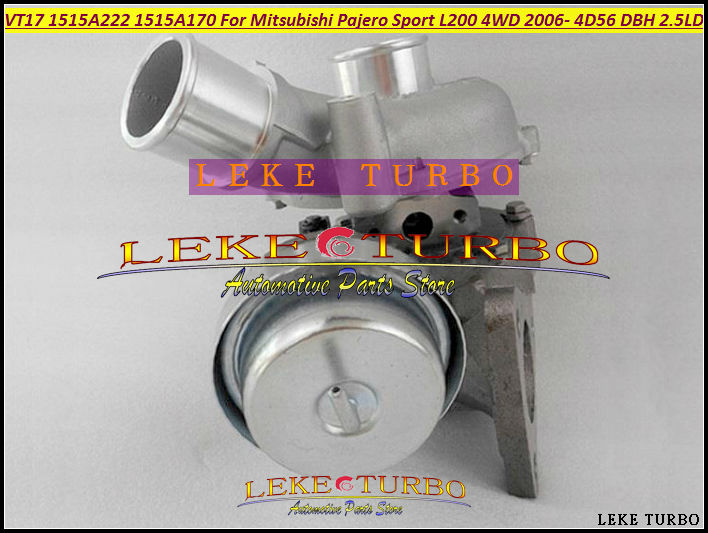 Turbo VT17 1515A222 Turbocharger For Mitsubishi Pajero Sport L200 DC 2006-2014 Engine 4D56 DBH DIE 5VX 2.5L 123kw for mitsubishi l200 kb