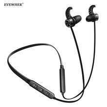 EVEWHER IPX5 Vattentät Bluetooth Hörlurar Sport Trådlös Hörlurar Stereo Magnetic Headset Bluetooth 4.1 med mikrofon för telefon