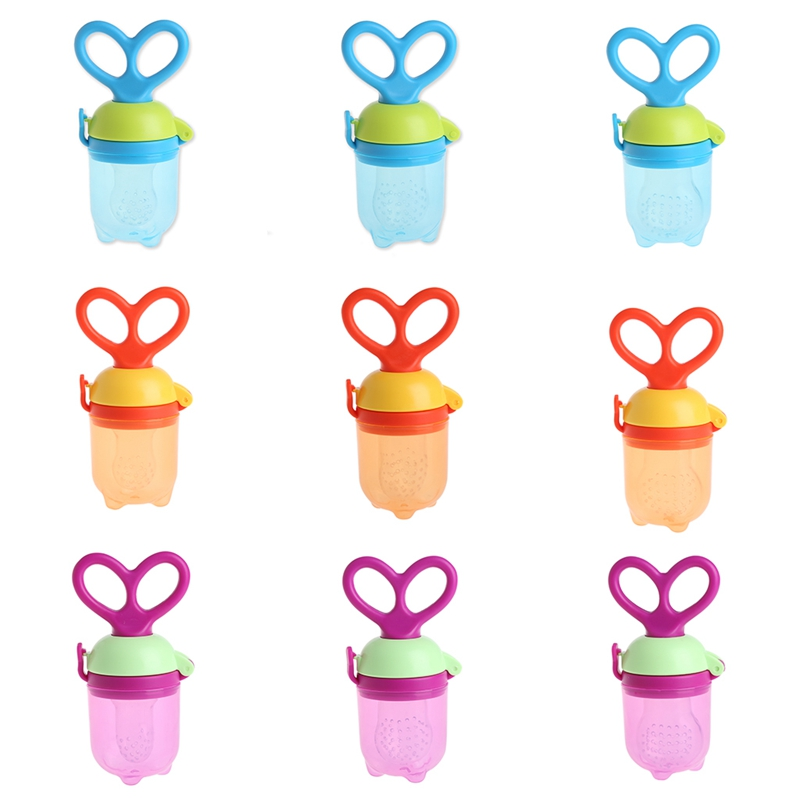 1Pcs Baby Fresh Food Milk Nibbler Feeder Kids Nipple Feeding Pacifier Bottles-P101