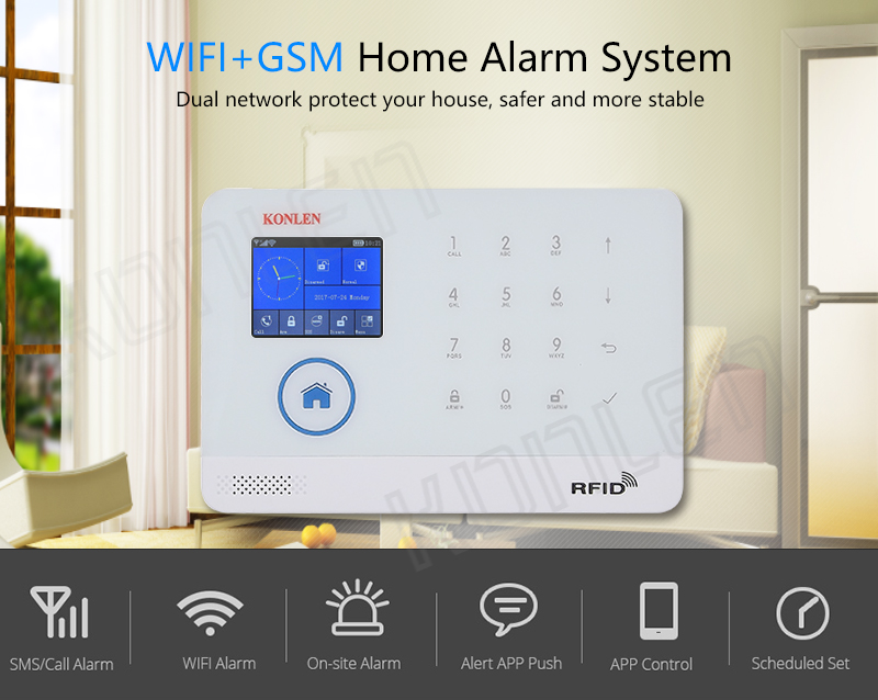 WIFI GSM Security Home Alarm 1