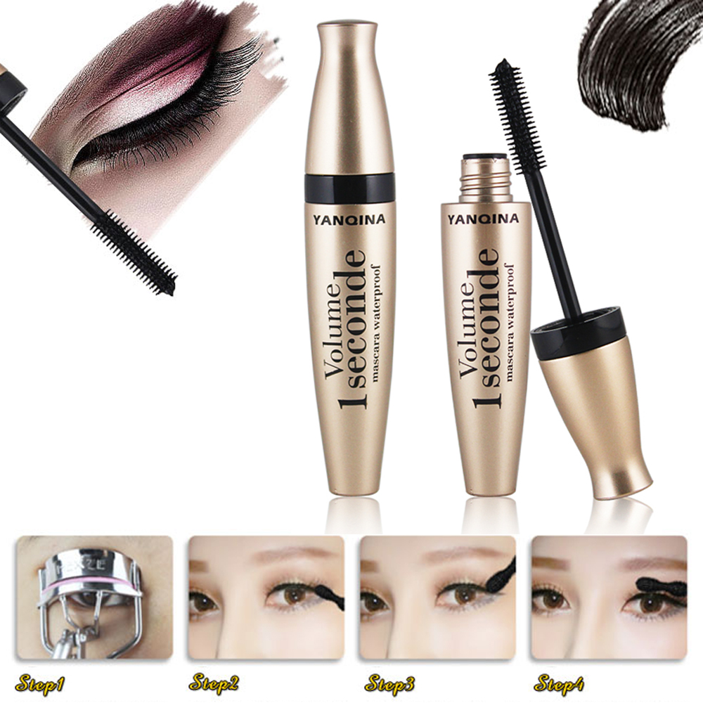 Image 4 - New Waterproof Lash Makeup Mascara Rimel 3d Mascara For Eyelash Extension Black Thick Lengthening Eye Lashes Cosmetics-in Mascara from Beauty & Health