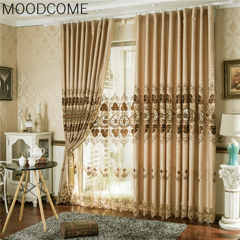Buy curtains for living dining room - European style curtains for living room ...