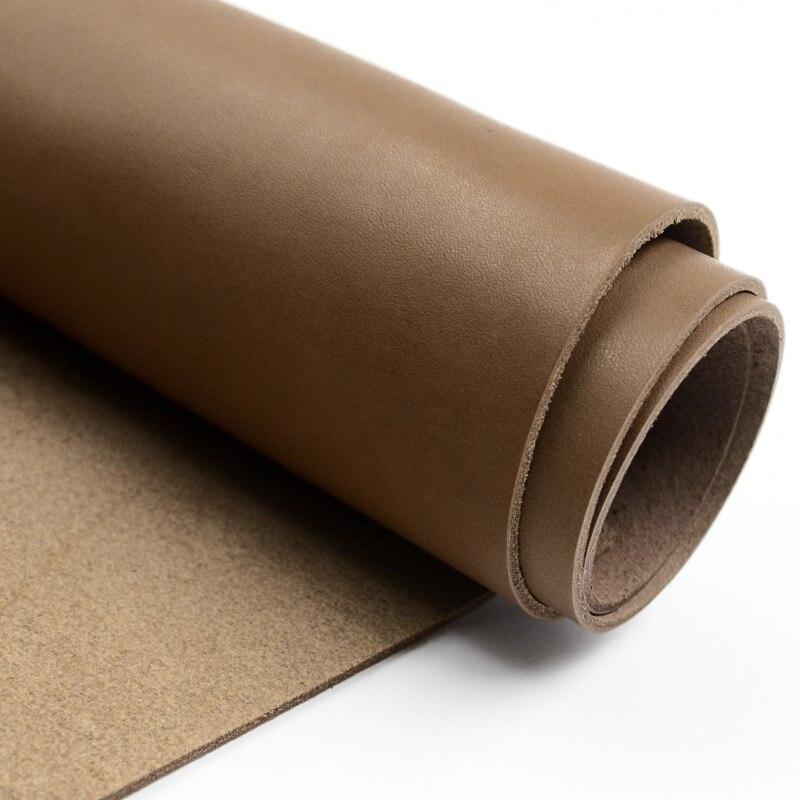 Diy Материал первый слой кожи кожа телячья кожа резьба кожа 2,0 мм толщина коричневый цвет кофе жира