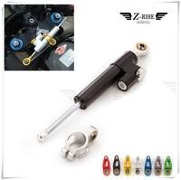CNC Universal Aluminum Motorcycle Damper Steering Stabilizer Safety Control For Aprilia DORSODURO 1200 750 FALCO SL1000