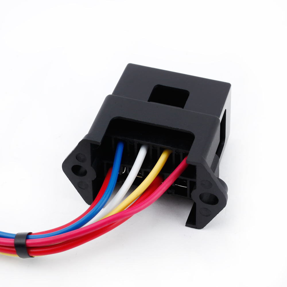 hight resolution of 4 way fuse box 12v 24v max dc 32v circuit car trailer auto blade block holder atc ato 2 input 4 ouput wire fuse accessory in fuses from automobiles