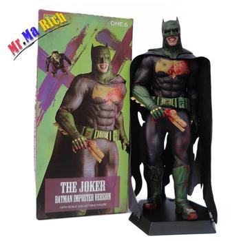 Suicide Squad Joker Action Figure 1/6 Scale Dipinte Figura Pazzo Giocattoli Batman Imposter Ver. Pvc Brinquedos Giocattolo Anime