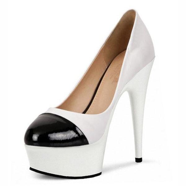 2016 NEW women's autumn shoes single shoes platform thin heels 15cm ultra high heels fashion White wedding shoes women's pumps 15cm ultra high heels sandals ruslana korshunova platform crystal shoes the bride wedding shoes