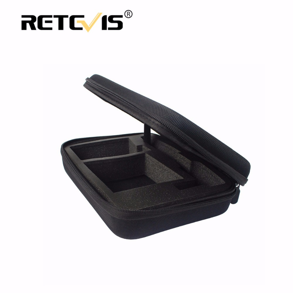 1pcs Tailored Storage Box/Bag Handy Carrying Radio Case For Baofeng UV-5R UV5R Retevis RT5R RT5 For TYT TH-F8 Walkie Talkie