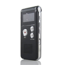 Rechargeable 8GB Digital Audio Voice Recorder Dictaphone Telephone MP3 Player ET recorder player jb sd101 lcd sd card rechargeable voice recorder w mp3 player black 8gb