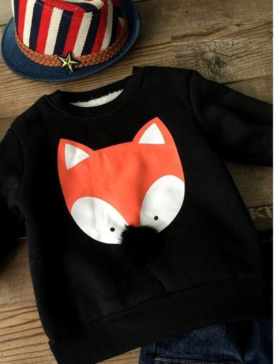 Opruiming Kinderkleding.Opruiming Kinderkleding Vos Hoodie Tops Koreaanse Stijlen Baby Boy