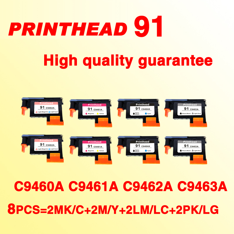 8x compatible For HP 91 Printhead replace for hp91 LC/LM M/Y MK/C PK/LG C9460A C9461A C9492A C9463 Print head8x compatible For HP 91 Printhead replace for hp91 LC/LM M/Y MK/C PK/LG C9460A C9461A C9492A C9463 Print head